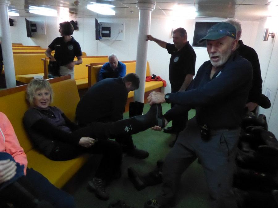 Drake Passage en route to South Shetland Islands