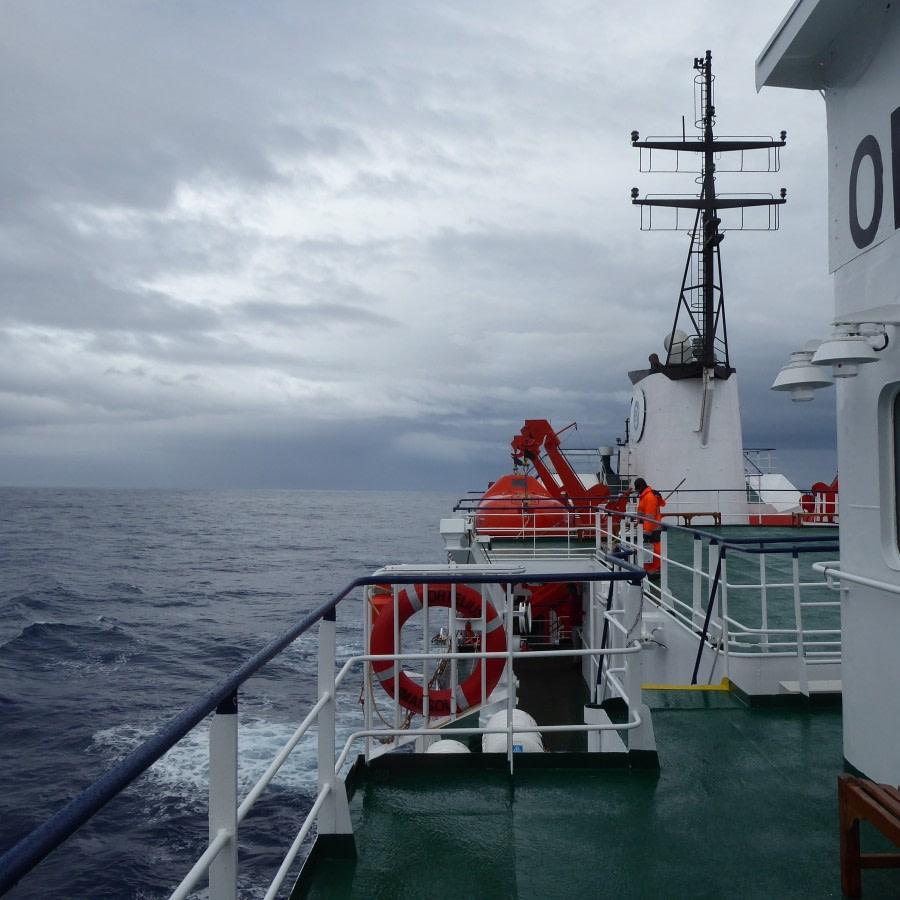 along Ross Ice Shelf