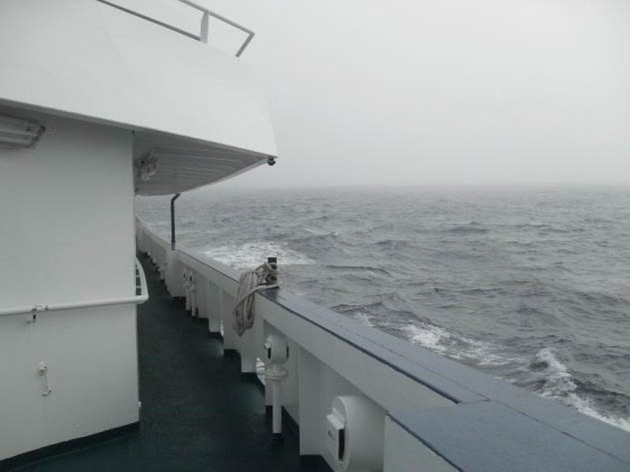 At Sea to South Georgia