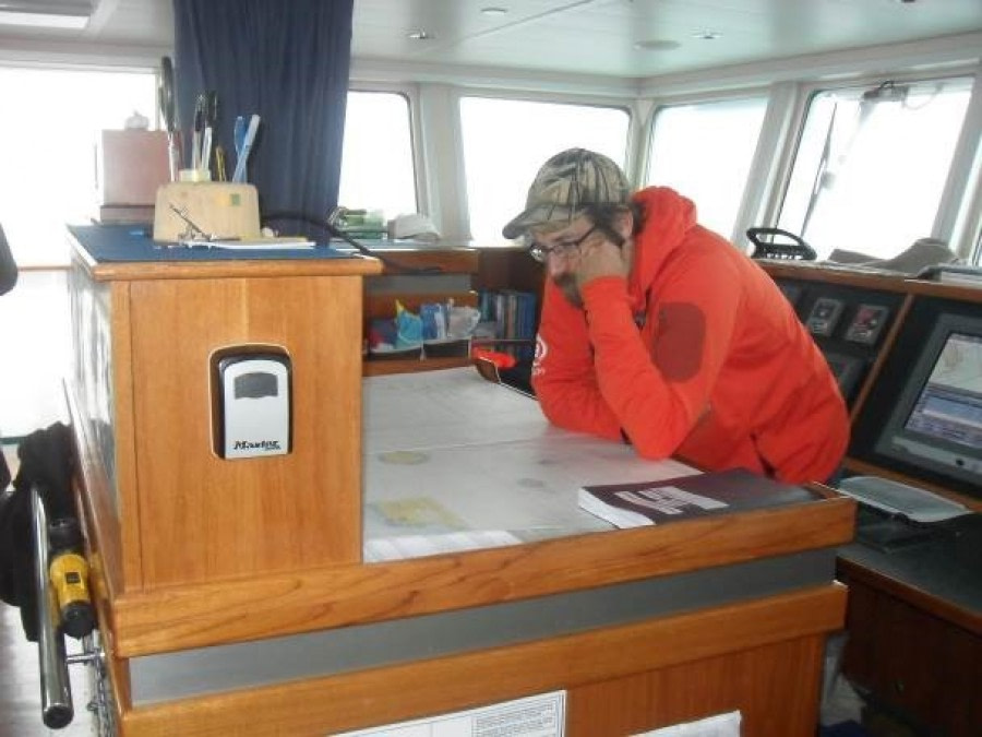 At Sea to Gough Island