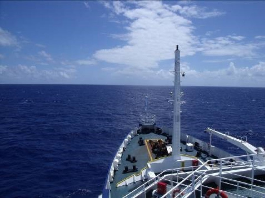 At Sea to Cape Verde