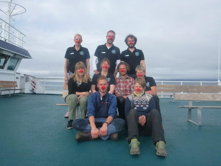 Ausschiffung in Longyearbyen, Isfjord