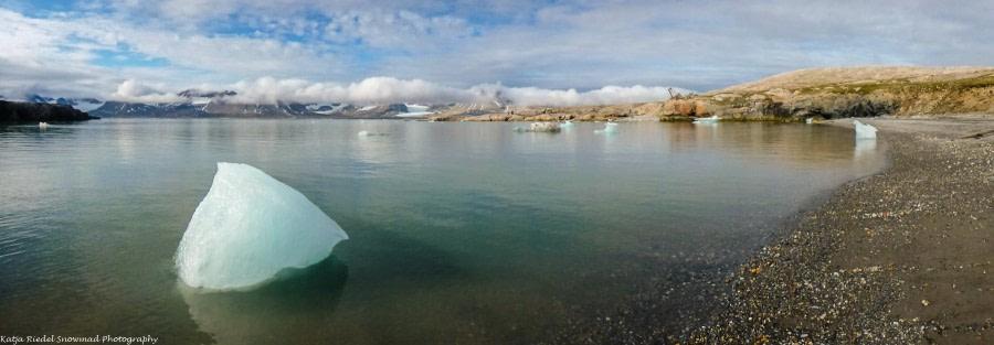 Kongsfjord: Ny London (Blomstrandhalvøya), Ny Ålesund, Kronebreen Gletscher Cruise