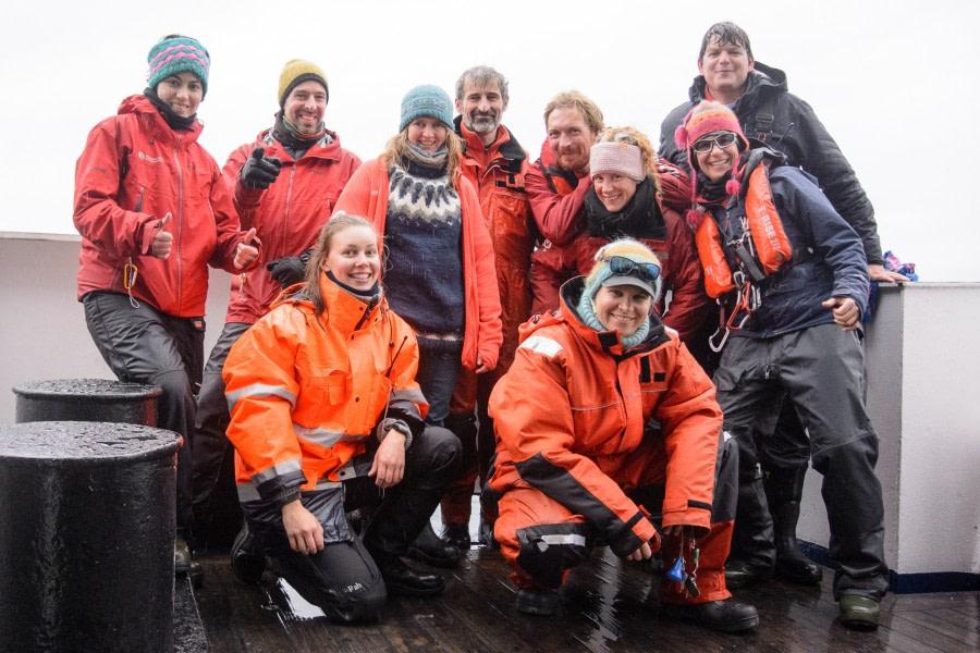 Disembarkation in Longyearbyen, Adventfjord