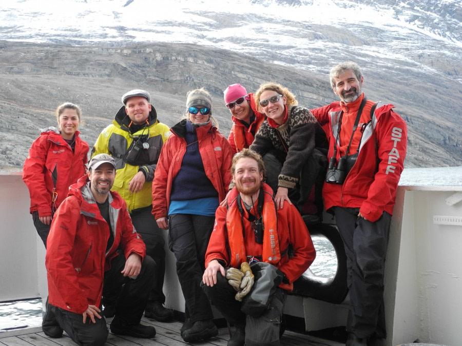 Disembarkation in Akureyri (Iceland)
