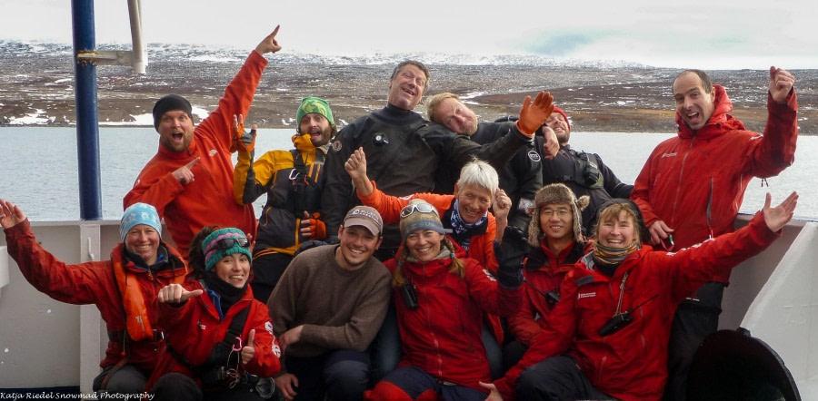 Ausschiffung in Akureyri, Island