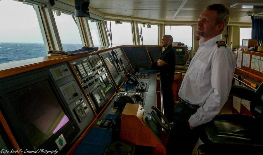 At Sea Sailing to South Georgia