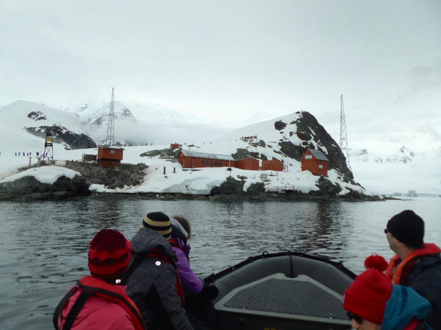 Danco Island and Brown Station & Skontorp Cove