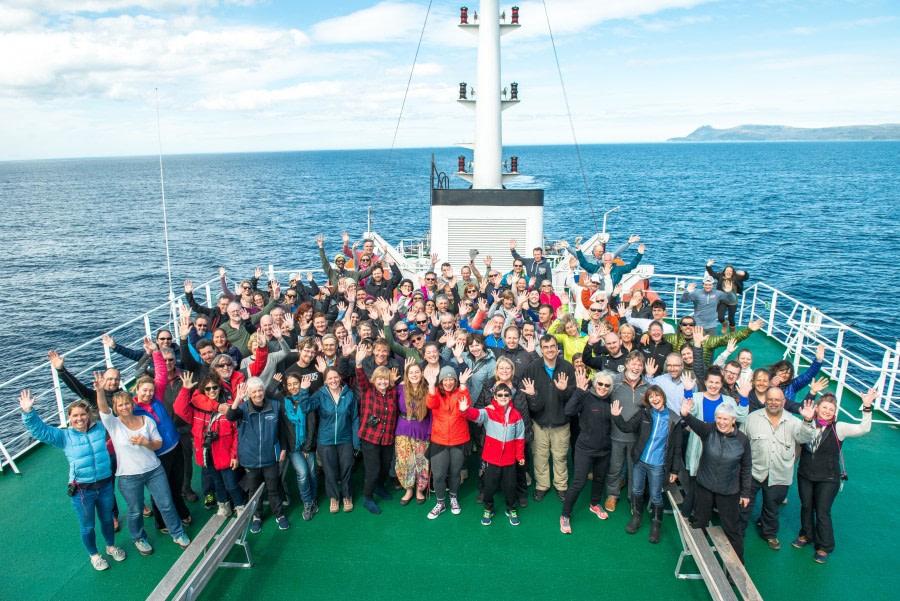Disembarkation Ushuaia