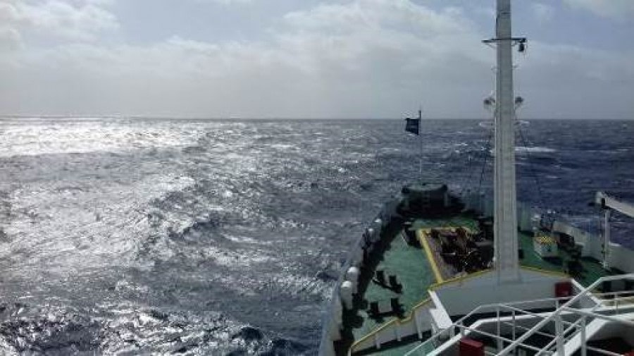 At Sea Drake Passage Southward