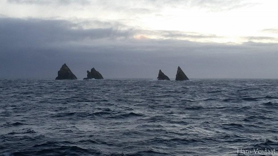 Shag Rocks, at Sea to South Georgia