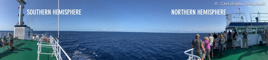 At Sea to Cape Verde - Crossing the Equator
