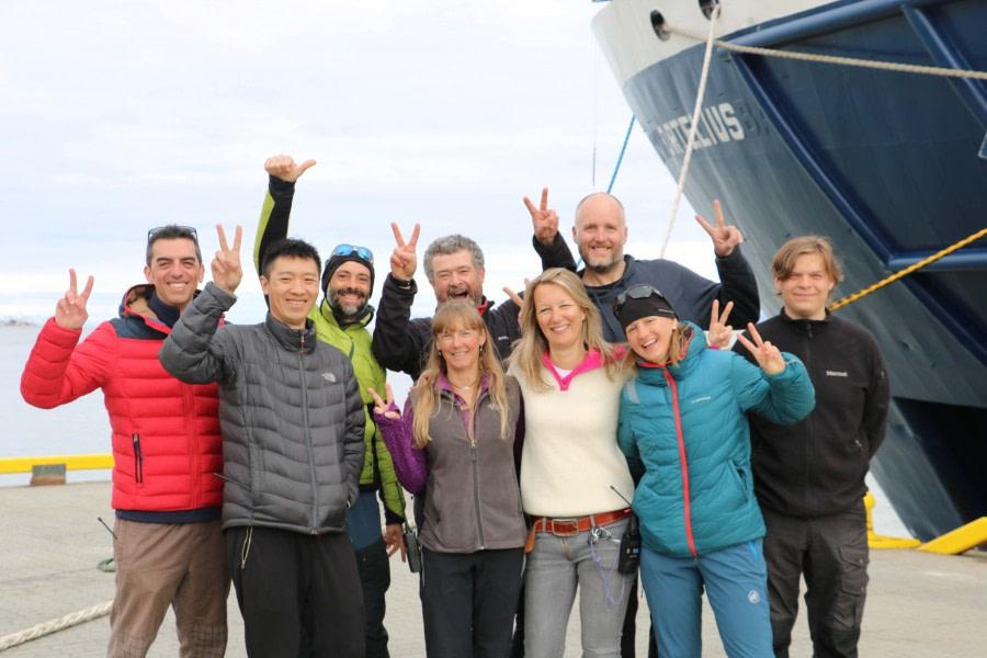 Disembarkation, Longyearbyen