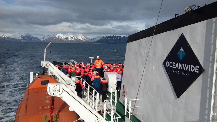 Embarkation – Longyearbyen