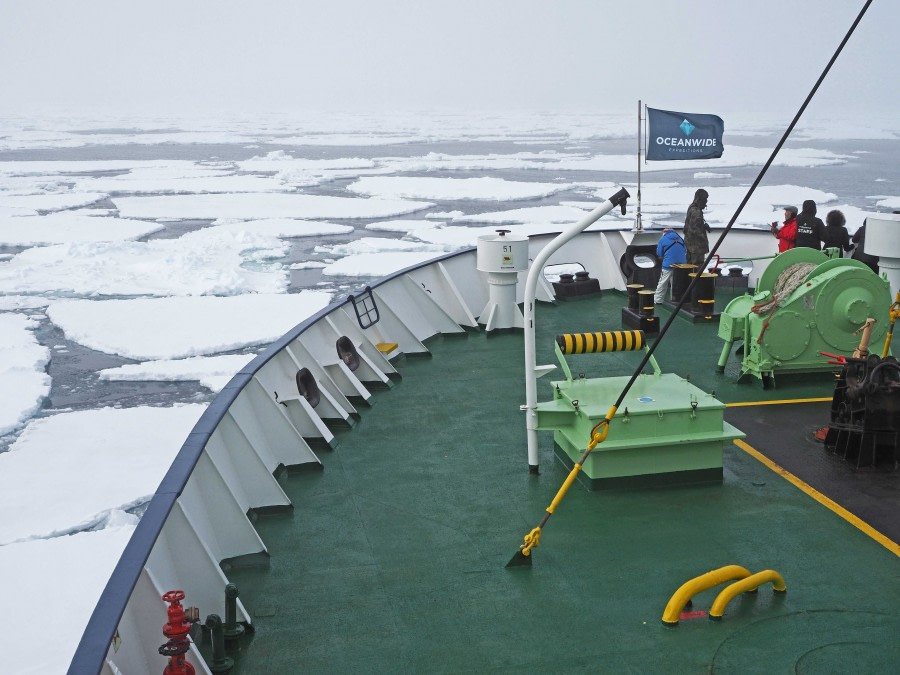 Pack ice in Fram Strait