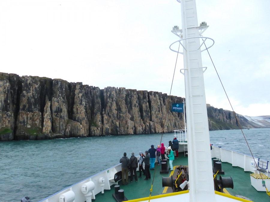 Hinlopen Strait: Alkefjellet & Torellneset
