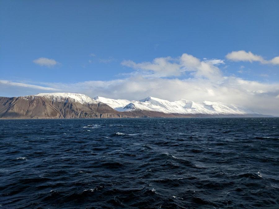 Auf der Überfahrt nach Island