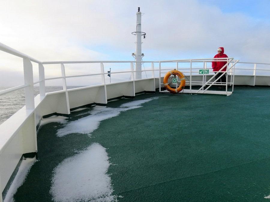 At Sea to Greenland