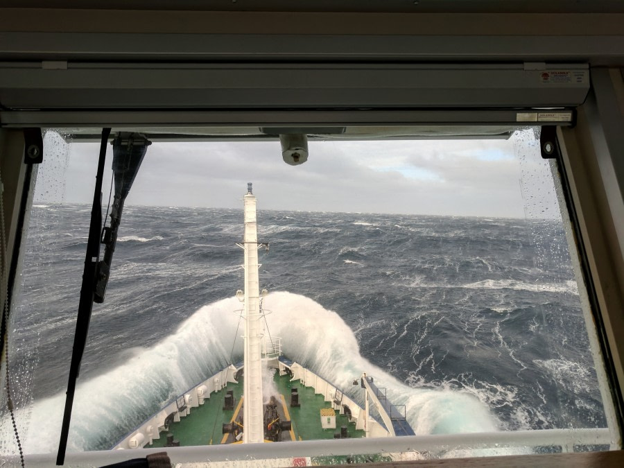 Auf der Überfahrt nach Grönland