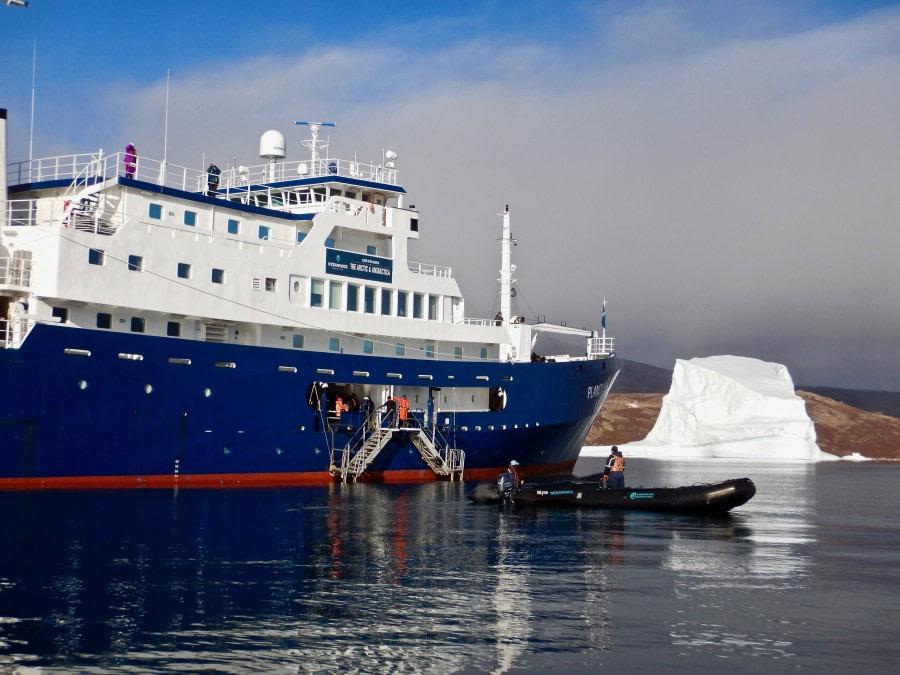 Disembarkation in Akureyri