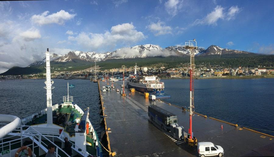 Disembarkation from Ushuaia