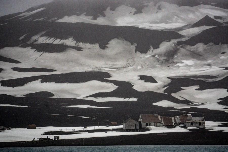 Deception Island Ship Cruise, and farewell Antarctica!