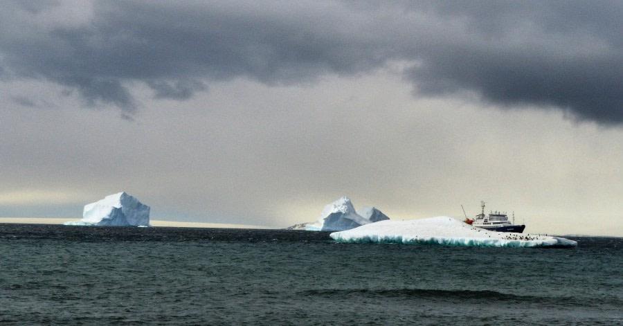Sea day, en route to Antarctica
