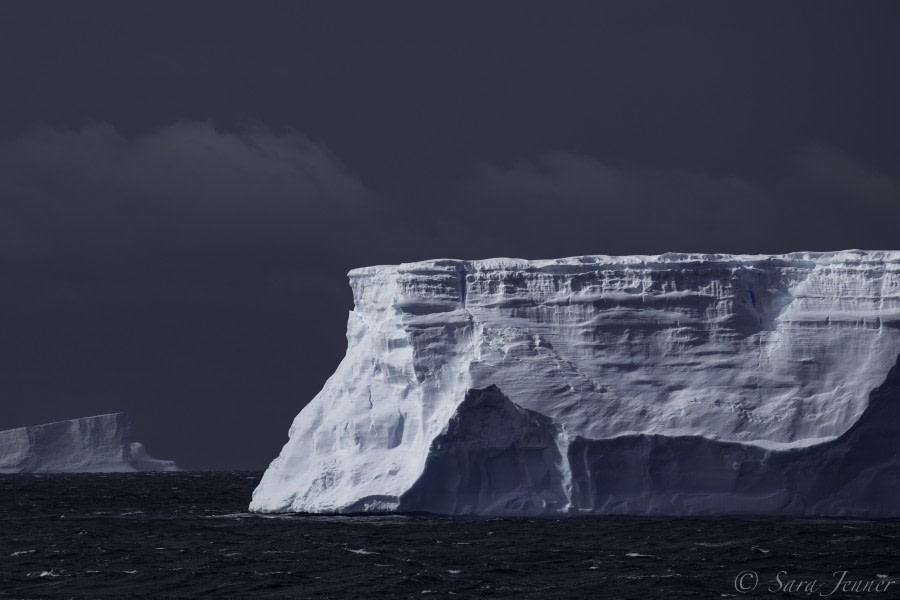 At sea en route to Antarctic Peninsula