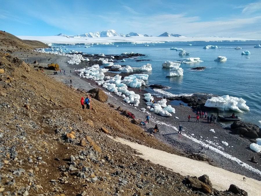 Brown Bluff/Antarctic Sound