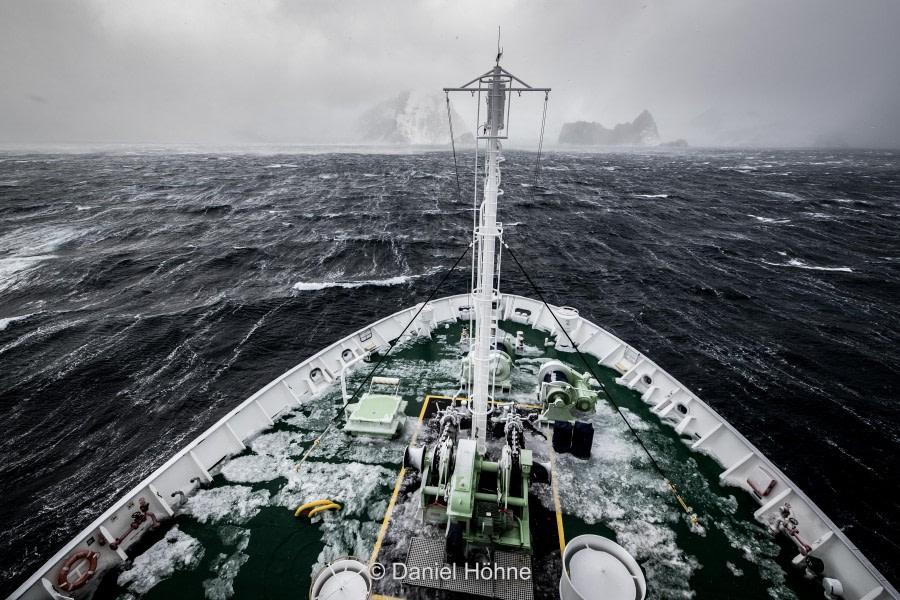 Elephant Island & At Sea to Antarctica