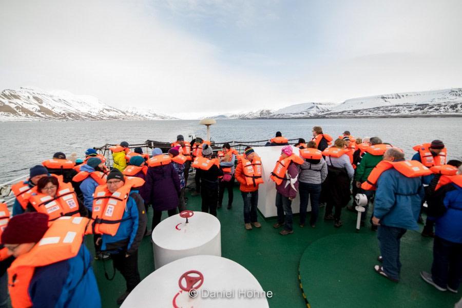 Embarkation in Longyearbyen