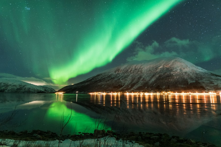 North Norway,  Aurora Borealis