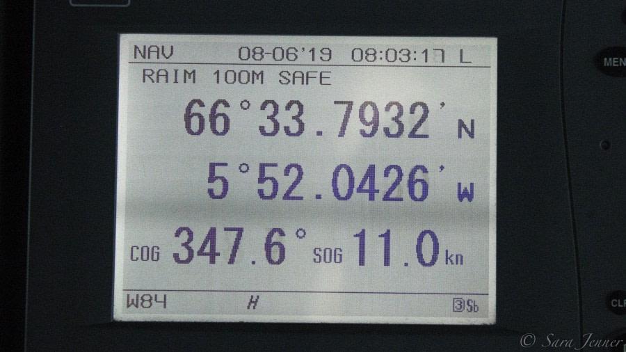 Day at Sea, bound for Jan Mayen