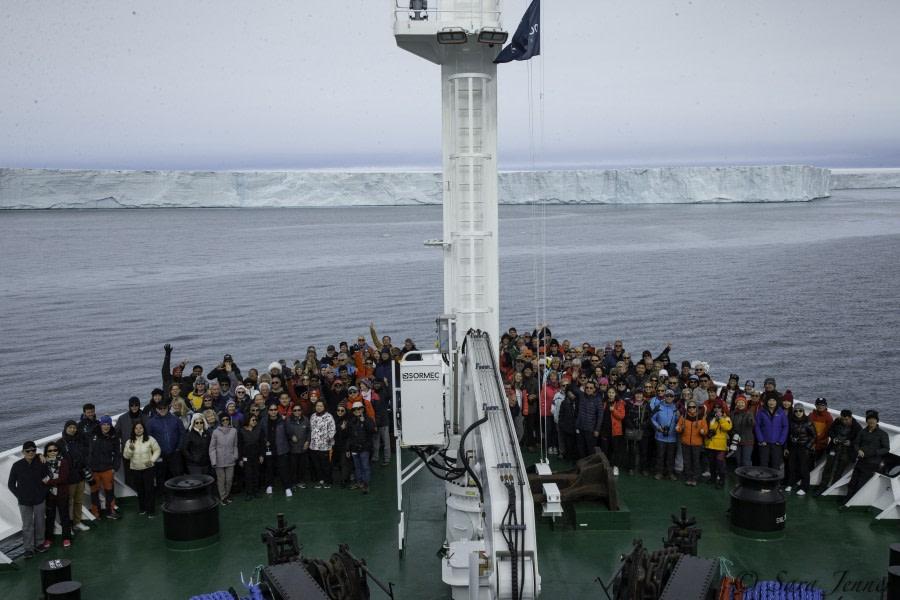 Disembarkation: Longyearbyen
