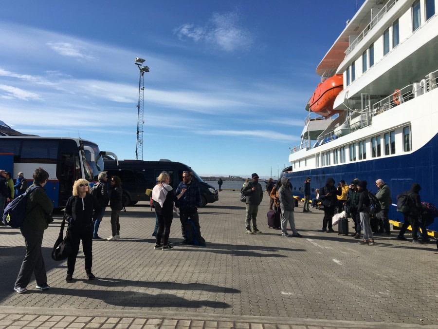 Embarkation: Longyearbyen