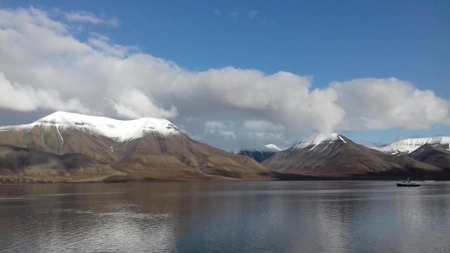 Einschiffung – Longyearbyen