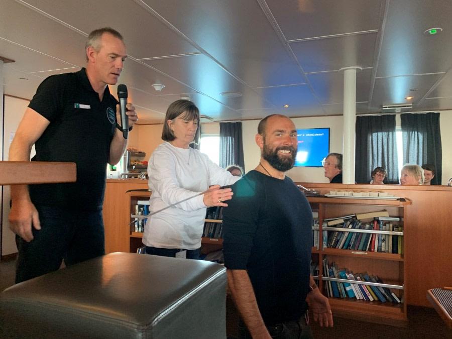 At sea, Drake Passage