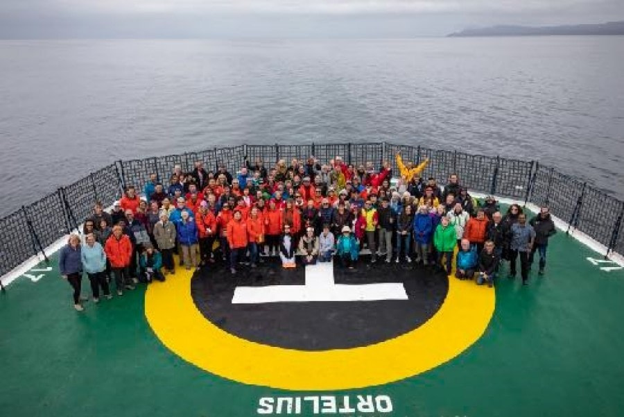 At sea: Drake Passage