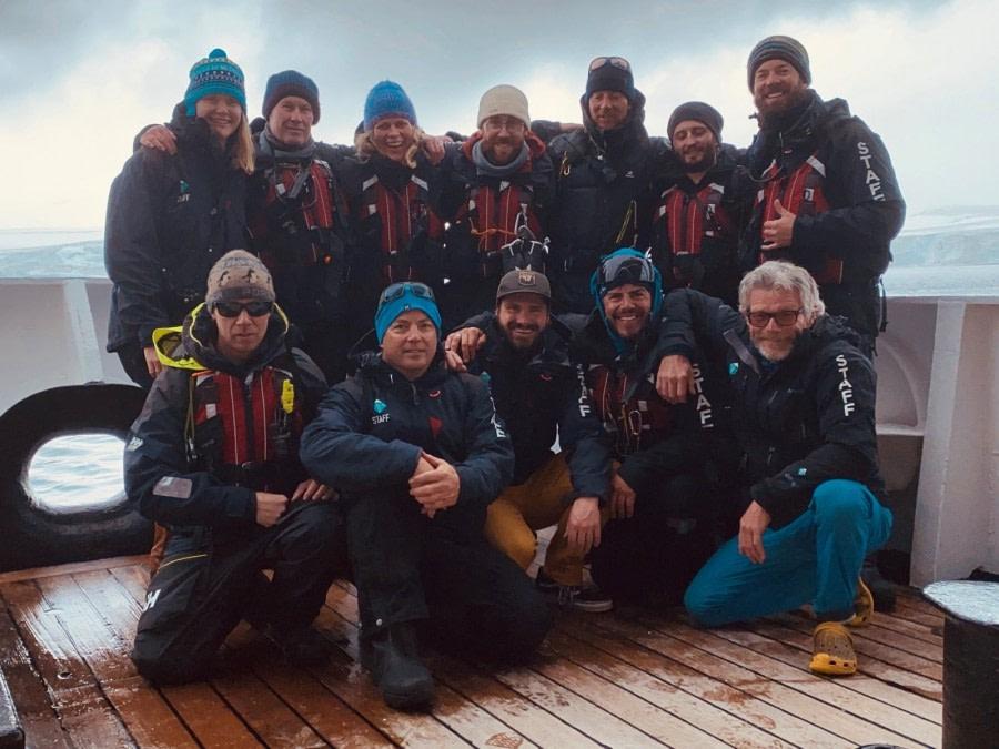 Ushuaia- Disembarkation