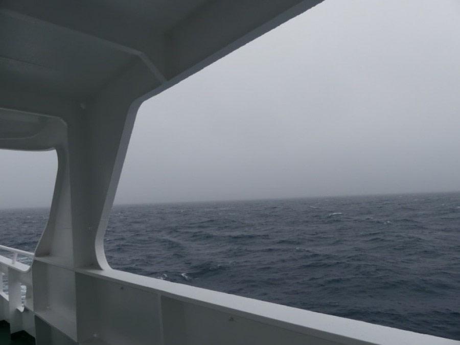 At sea towards Ushuaia