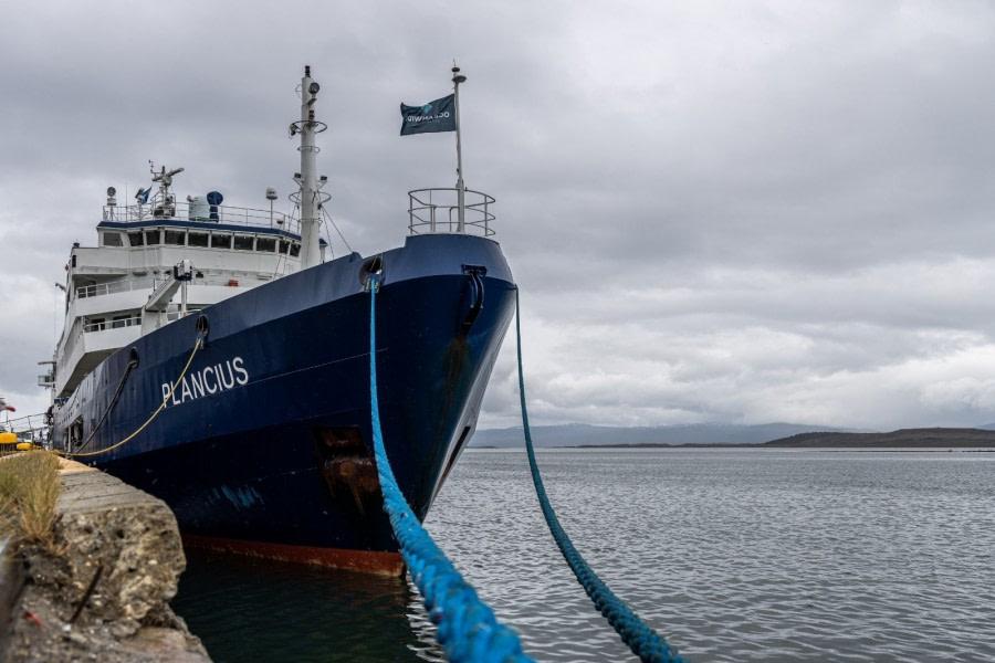 Embarkation – Ushuaia, Argentina