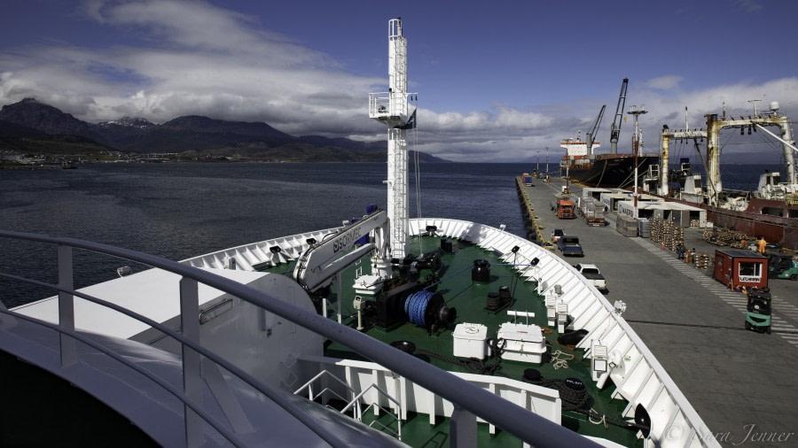 Embarkation, Ushuaia