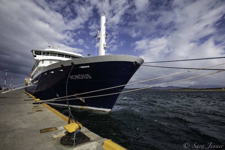 Embarkation: Ushuaia