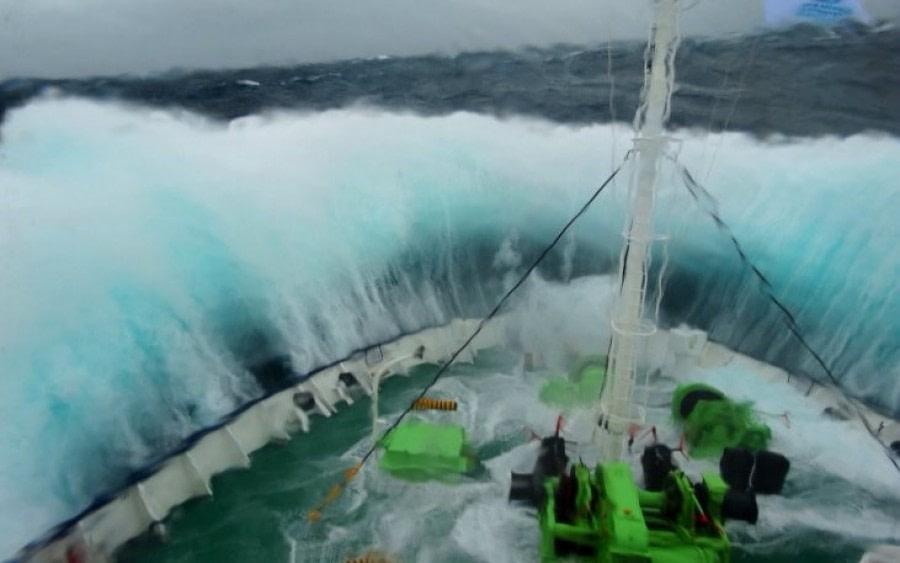 At Sea to Ushuaia