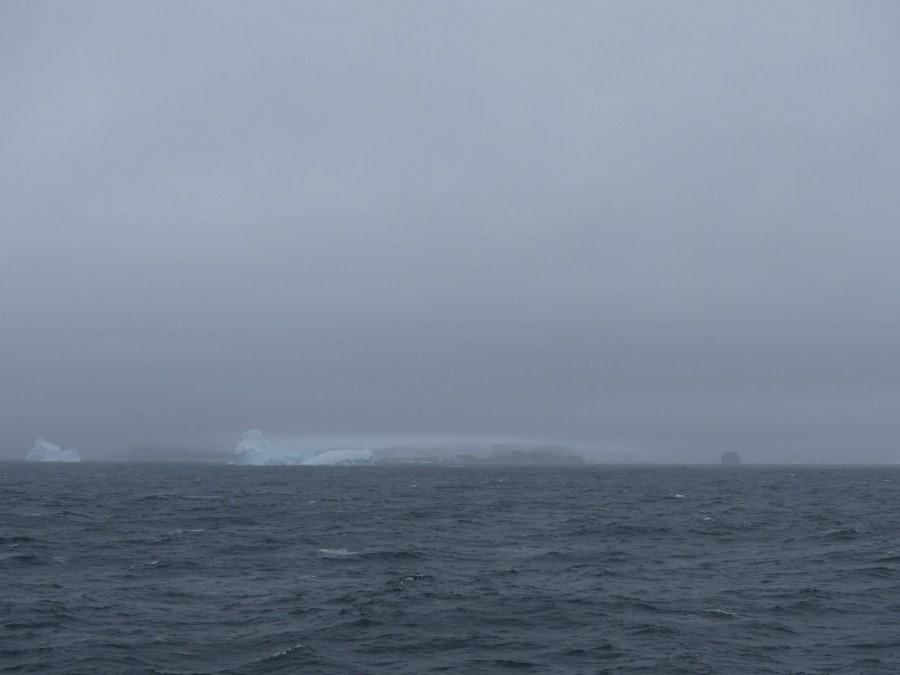 In the Bellingshausen Sea, Antarctica