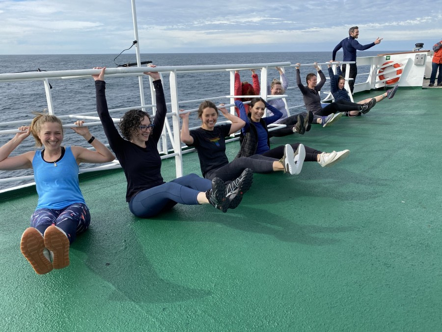 At Sea to Montevideo