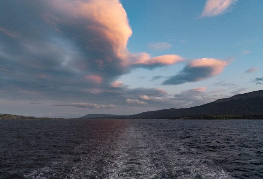 At sea: The Drake Passage