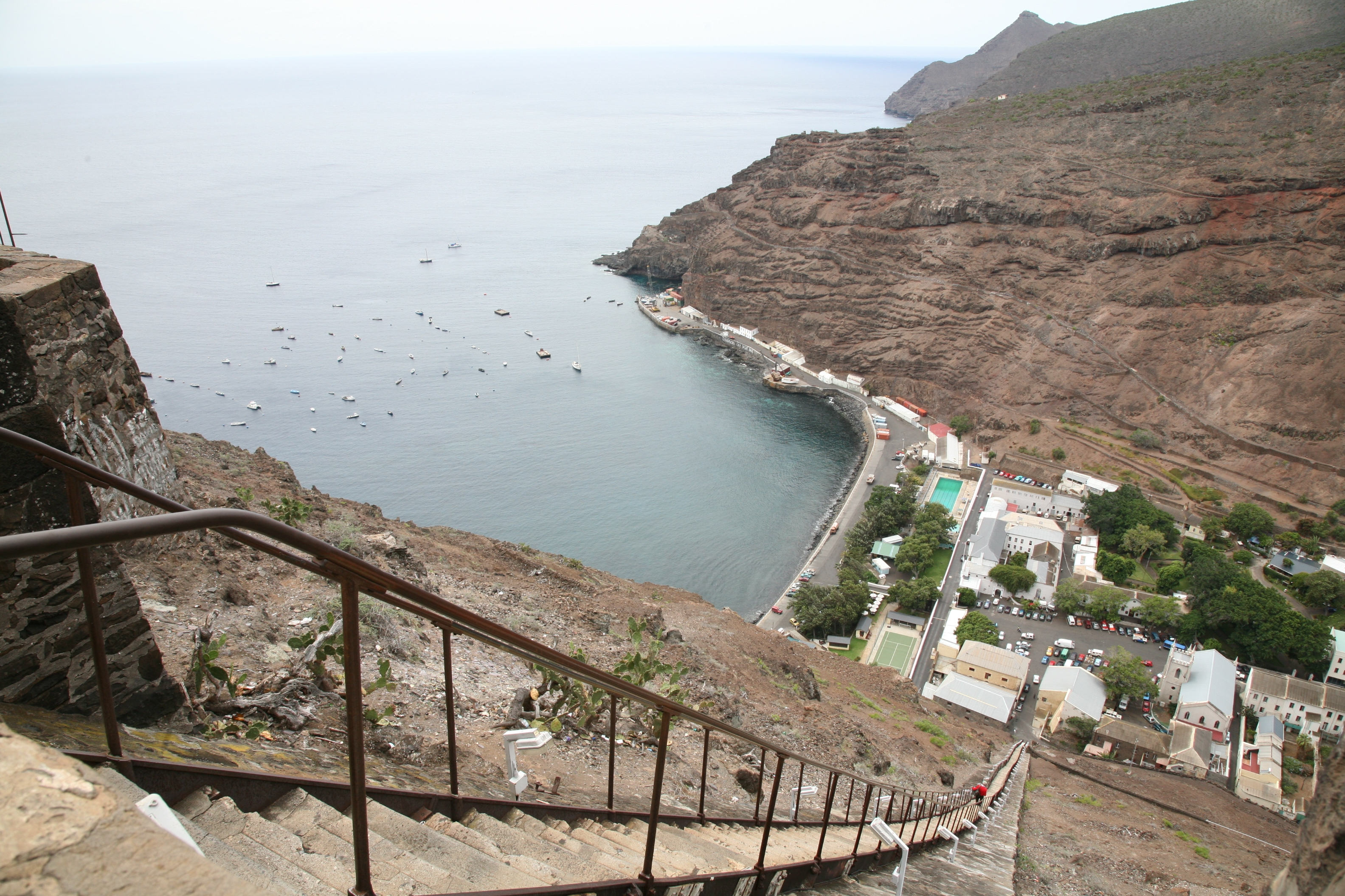 St Helena, Jacobs Ladder, Atlantic Odyssey © Rob Tully-Oceanwide Expeditions.JPG