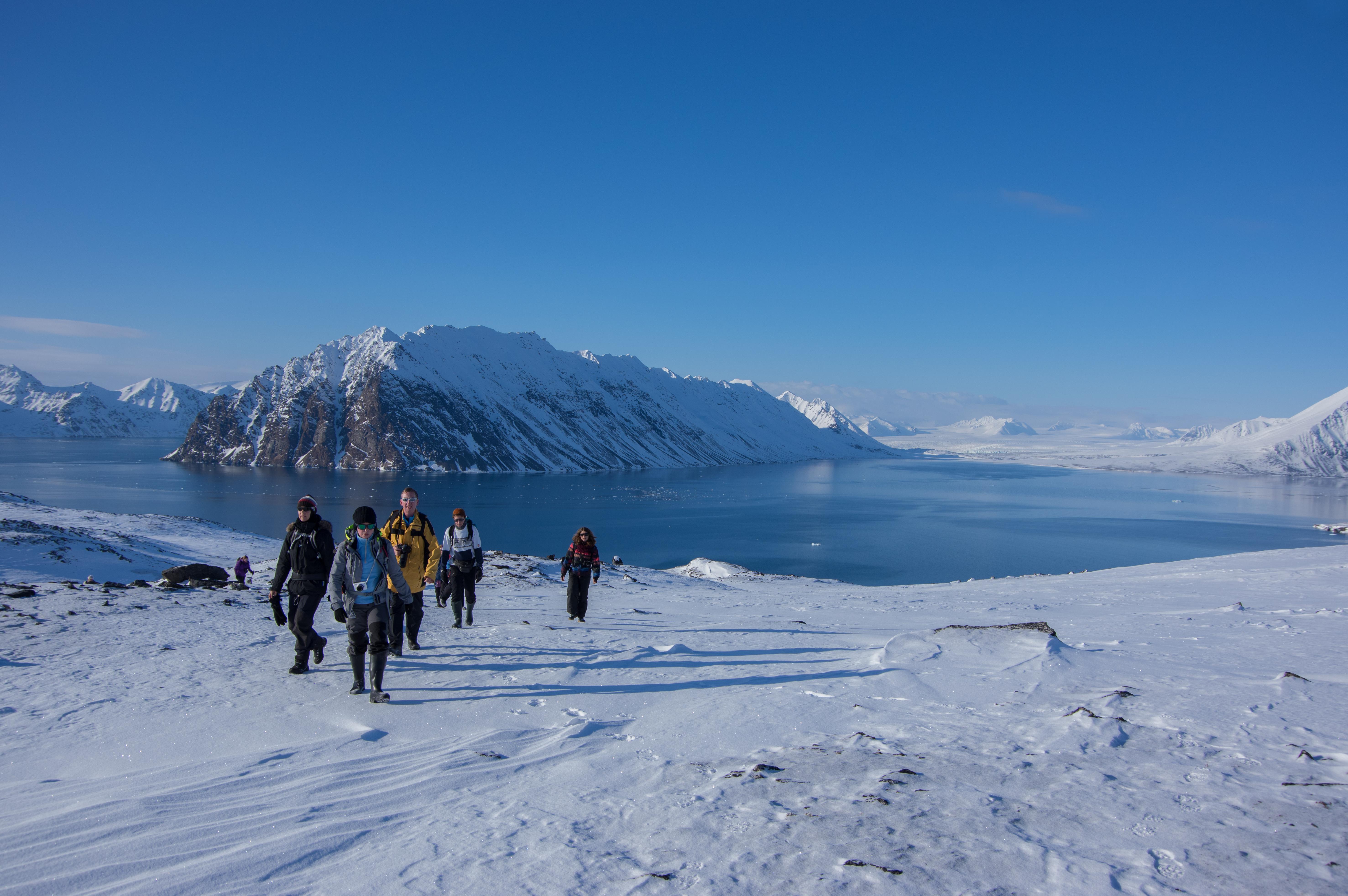 Hiking, Arctic