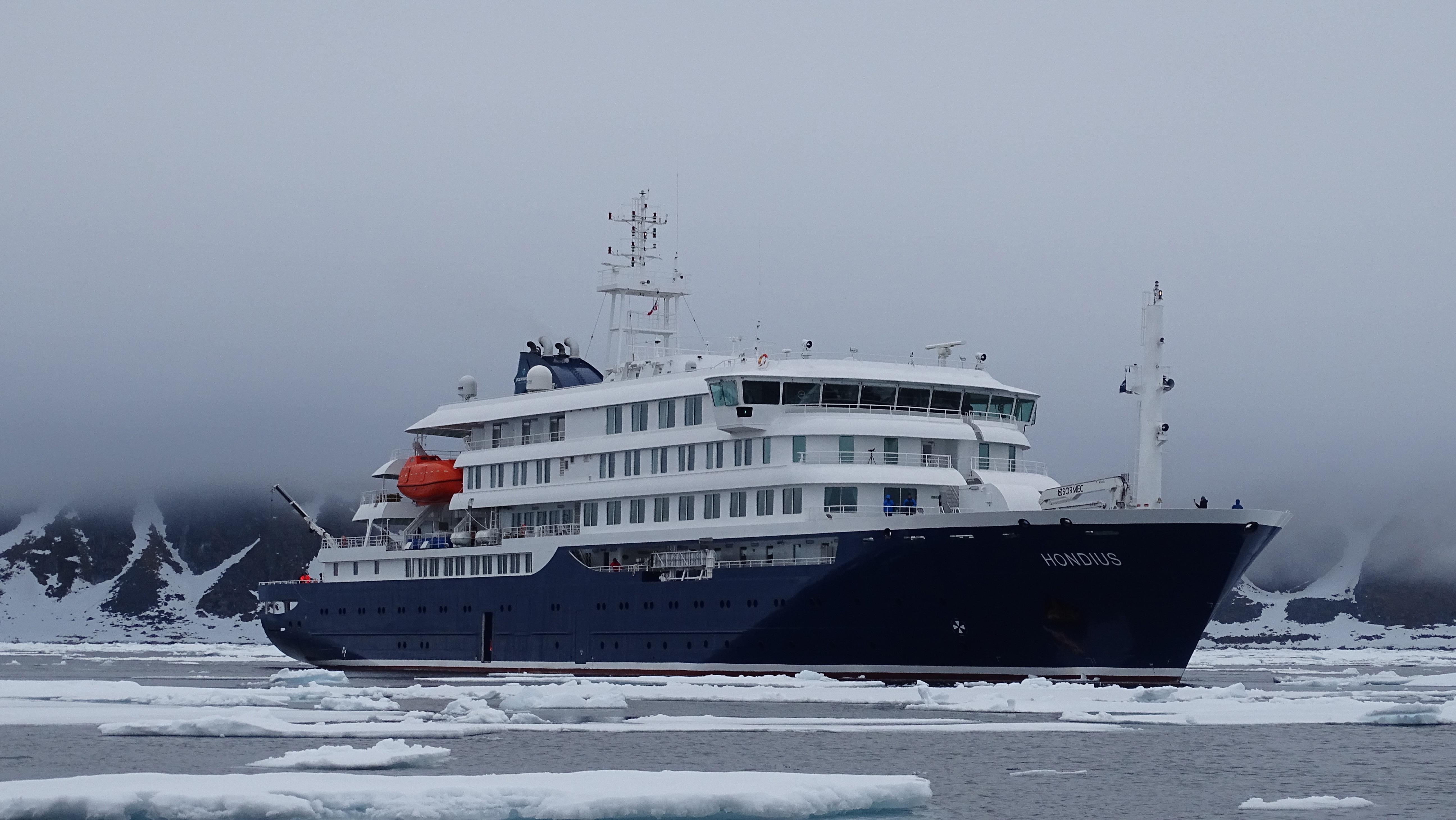 Hondius, Svalbard